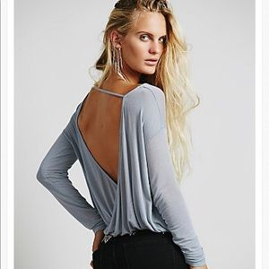 Free people back together tee